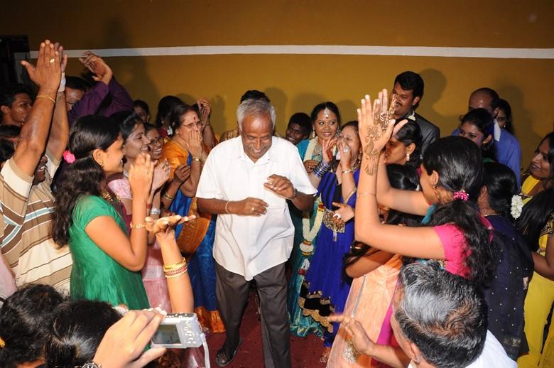 Engagement dance party