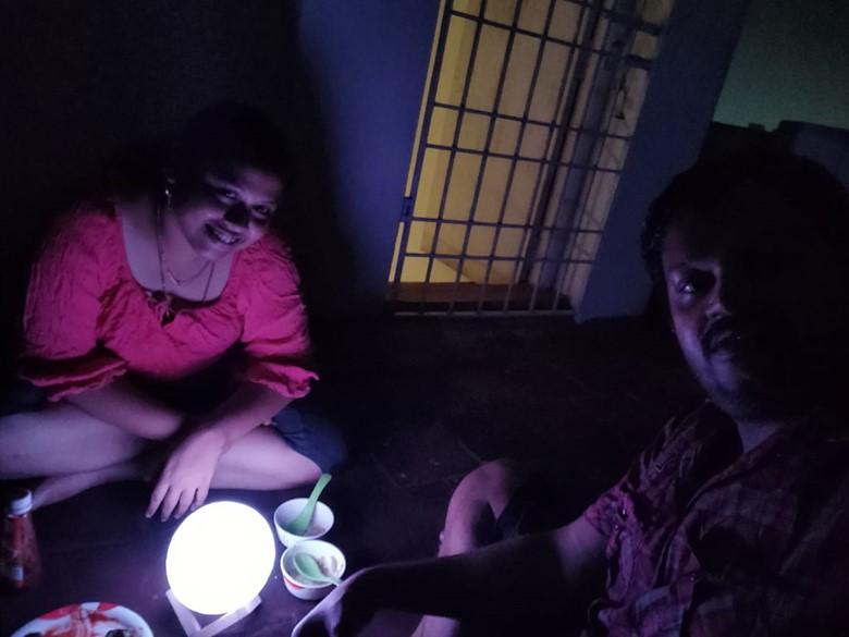 moon light dinner