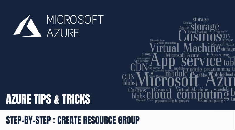 How to Create your Resource Group via Azure Portal