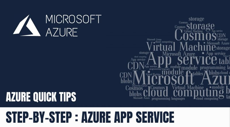 STEP-BY-STEP AZURE APP SERVICE