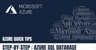 Quick Tip : Scaling Up/Down Azure Sql Database via Azure portal | Step By Step